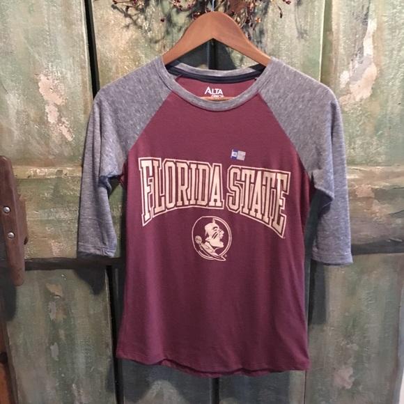 Tops - Alta Gracia Florida State 3/4 Length Womens Shirt
